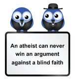 Atheist Sign Stock Images