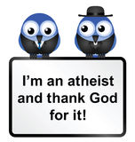 Atheist Sign Royalty Free Stock Photos