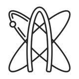 Atheist symbol  icon Stock Image