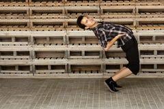 Atheletic junger Mann Lizenzfreie Stockfotografie