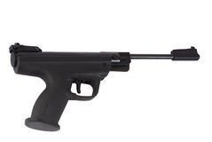 Atheletic weapon. Gun pneumatic on white background Stock Photography
