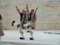 Athen-Ändern des Schutzes Lizenzfreie Stockfotos