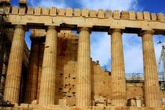 Athen, Akropolis Lizenzfreies Stockbild