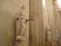Athen för Italien Sicilien Syracuse domkyrkaFromer grek tempel Fotografering för Bildbyråer