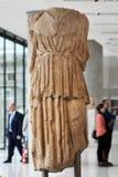 ATHEN, GRIECHENLAND - 30. DEZEMBER 2016: Statue von Athene in Acropoli Stockbild
