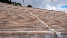 ATHEN, GRIECHENLAND - 20. JANUAR 2017: Stadion oder kallimarmaro Panathenaic in Athen Lizenzfreie Stockbilder