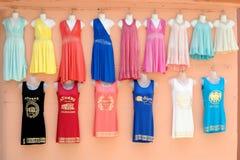 Athen, Griechenland, Kleidung für Verkauf Lizenzfreie Stockfotografie