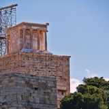 Athen Griechenland, Nike-Tempel auf Akropolishügel Stockfotos