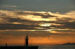 Athen-Jachthafen in Alimos. Lizenzfreies Stockbild