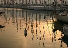 Athen-Jachthafen in Alimos. Stockfotos