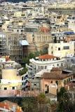 Athen-Kleberdschungel, Griechenland Stockbild