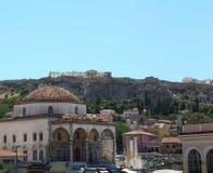 Athen mit der Akropolise, Griechenland Lizenzfreies Stockfoto