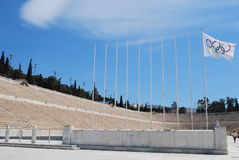 Athen-olympisches Stadion Stockfoto