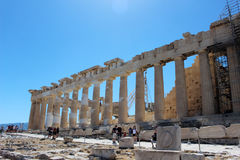 Athen-` s Parthenon Stockfotos
