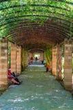 Athen-Staatsangehöriggarten Stockfoto