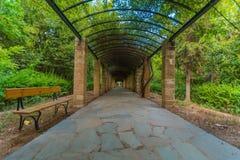Athen-Staatsangehöriggarten Stockfotografie