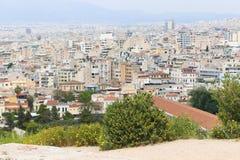 Athen von der Spitze Stockbild