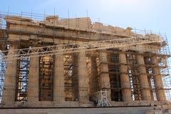 Athen& x27; Partenone di s Fotografia Stock