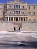 Athen-Zeremoniell Stockfotografie
