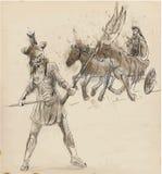 Athena ilustração do vetor