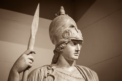 Athena the ancient Greek goddess.  royalty free stock photography