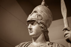 Athena the ancient Greek goddess.  royalty free stock photos