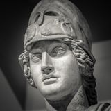 Athena the ancient Greek goddess.  stock photos