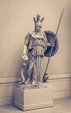 Athena the ancient Greek goddess. Of wisdom and science stock images