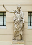 Athena Ancient Greeks' goddess. Of heroic endeavor and wisdom stock photography