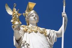 Athena de Viena Fotografía de archivo