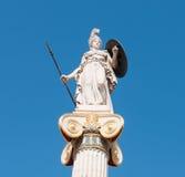 Athena God statue Stock Photos
