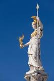 Athena, godin van Griekse mythologie royalty-vrije stock fotografie