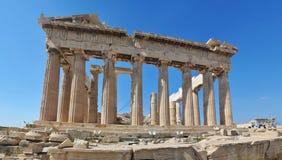 athena greece parthenon Arkivbild