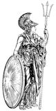 Athena Greek Goddess Royalty Free Stock Photos