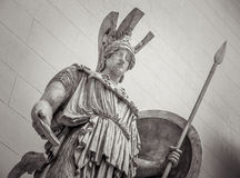 Athena Greek goddess of wisdom and science. Athena the ancient Greek goddess of wisdom and science stock photos