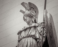 Athena Greek goddess of wisdom and science. Athena the ancient Greek goddess of wisdom and science stock photo