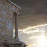 Athena Nike ancient temple, Acropolis Greece Stock Image