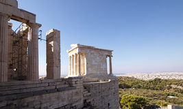 Athena nike temple Stock Photography