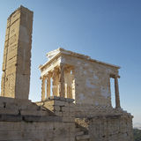 Athena Nike temple , Acropolis, Athens Royalty Free Stock Images