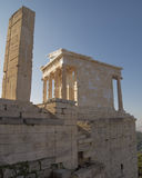 Athena Nike (victory) temple, Arthens Greece Stock Photo