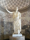 Athena Pallas Louvre Paris royalty free stock photography