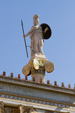 Athena Pallas statue in Greece Royalty Free Stock Photography