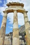 Athena Pronaia Sanctuary at Delphi Stock Photo