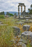 Athena Pronaia Sanctuary at Delphi Royalty Free Stock Image
