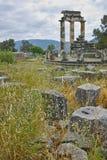 Athena Pronaia Sanctuary at Delphi Royalty Free Stock Image