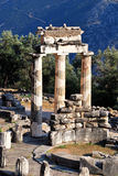 Athena Pronaia Sanctuary at Delphi, Greece Stock Photography