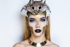 Athena smink Royaltyfri Foto