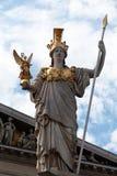 The Athena statue Stock Photos