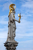 The Athena statue Royalty Free Stock Photography