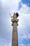 Athena statue Stock Photos